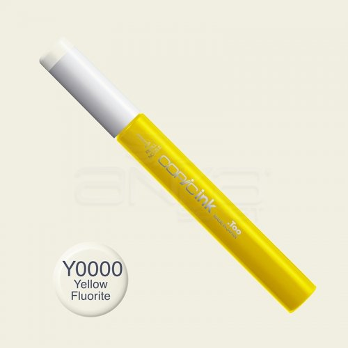 Copic İnk Refill 12ml Y0000 Yellow Fluorite