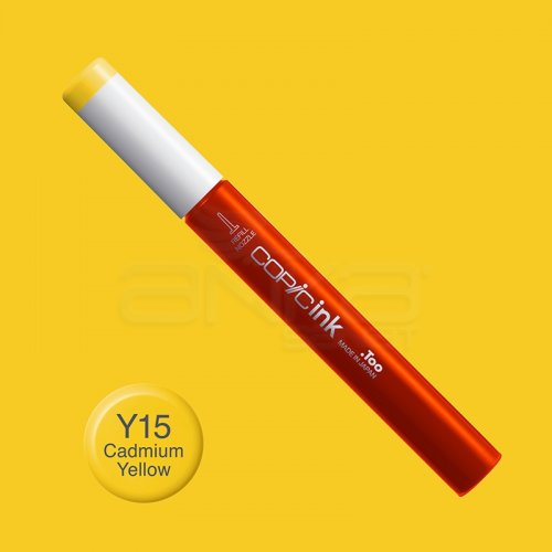 Copic İnk Refill 12ml Y15 Cadmium Yellow