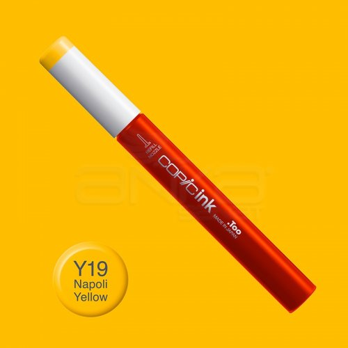 Copic İnk Refill 12ml Y19 Napoli Yellow