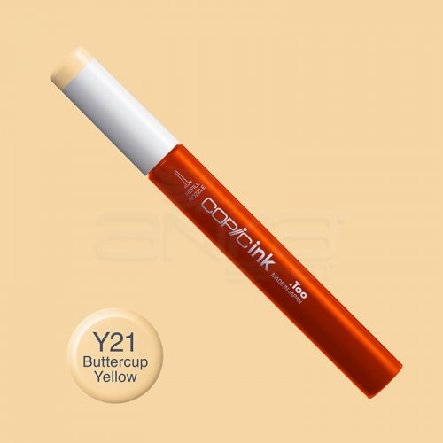 Copic İnk Refill 12ml Y21 Buttercup Yellow