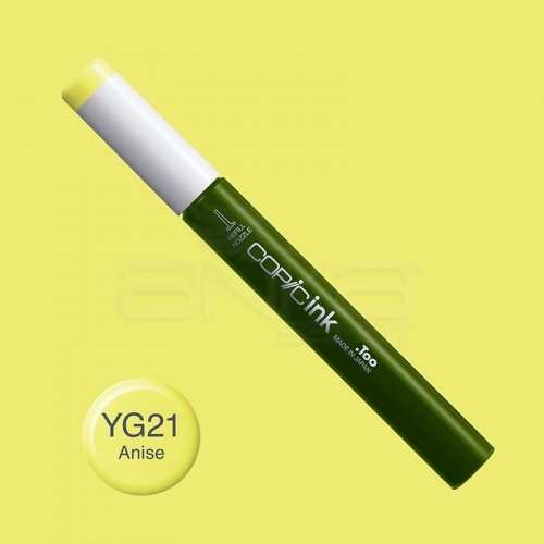 Copic İnk Refill 12ml YG21 Anise