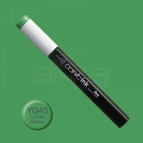 Copic İnk Refill 12ml YG45 Cobalt Green