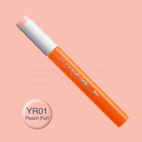 Copic İnk Refill 12ml YR01 Peach Puff