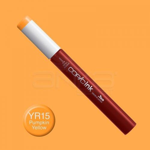 Copic İnk Refill 12ml YR15 Pumpkin Yellow