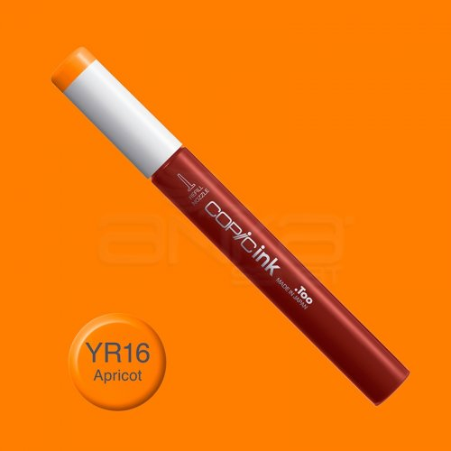 Copic İnk Refill 12ml YR16 Apricot