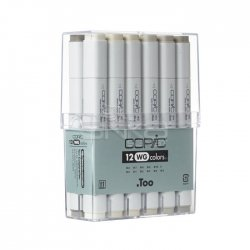 Copic Marker 12li Set Warm Grey - Thumbnail