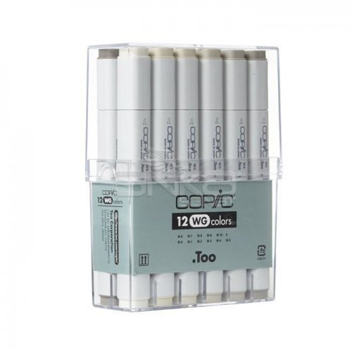 Copic Marker 12li Set Warm Grey