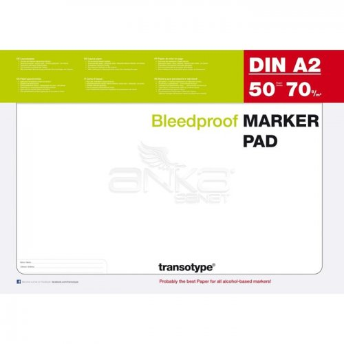 Copic Marker Pad 50 Yaprak 70g