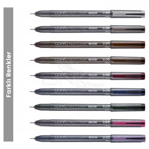 Copic Multiliner Teknik Çizim Kalemi 0,05mm