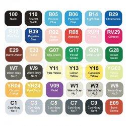 Copic - Copic Sketch 36lı Set Basic Colours (1)