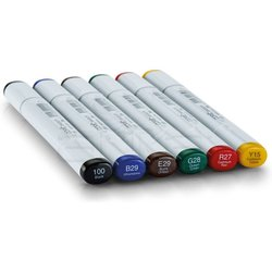 Copic - Copic Sketch Marker 6lı Set Bold Primaries (1)
