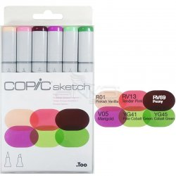 Copic - Copic Sketch Marker 6lı Set Froral Favorites 1