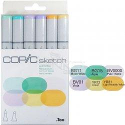 Copic Sketch Marker 6lı Set Pale Pastels - Thumbnail