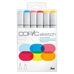 Copic Sketch Marker 6lı Set Perfect Primaries - Thumbnail
