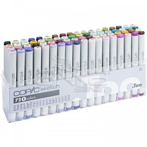 Copic Sketch Marker 72li Set E