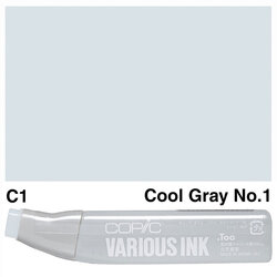Copic - Copic Various Ink C-1 Cool Gray No.1