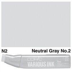 Copic - Copic Various Ink N-2 Neutral Gray No.2