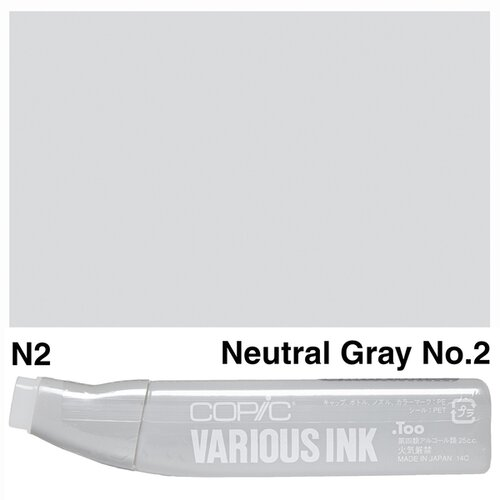 Copic Various Ink N-2 Neutral Gray No.2 - N2NEUTRAL GRAY