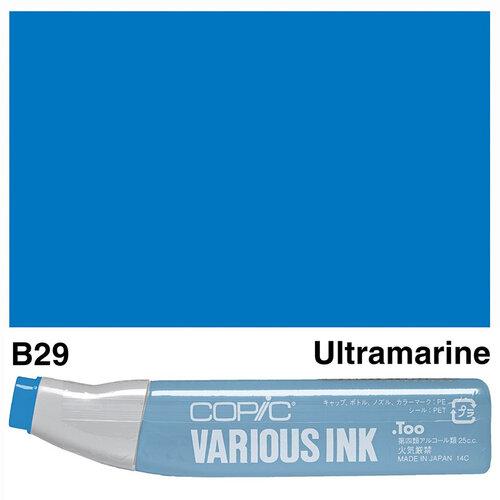 Copic Various Ink B29 Ultramarine - B29ULTRAMARINE