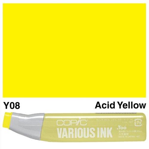 Copic Various Ink Y08 Acid Yellow - Y08 ACID YELLOW