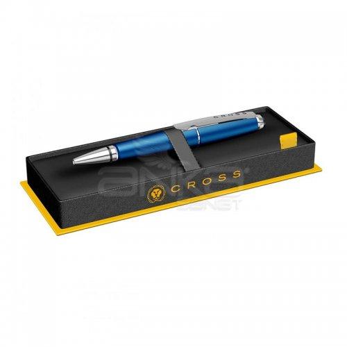 Cross Edge Mavi Krom Roller Kalem AT0555-3