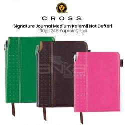 Cross - Cross SignAture Journals Medium Kalemli Not Defteri