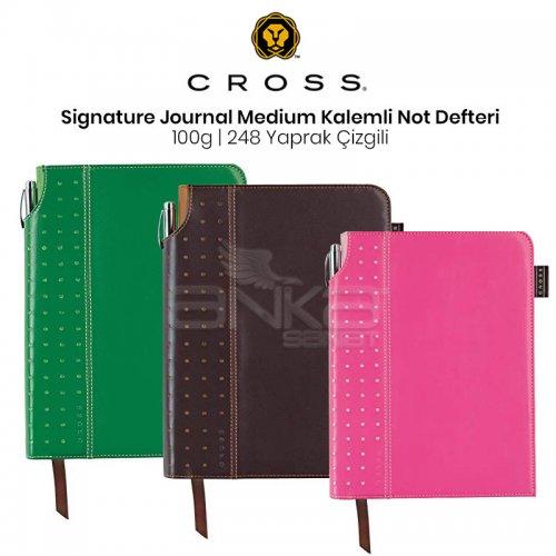 Cross SignAture Journals Medium Kalemli Not Defteri