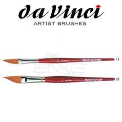 Da Vinci - Da Vinci 5587 Seri Sentetik Yan Kesik Uçlu Fırça