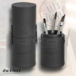 Da Vinci - Da Vinci Casaneo Pinselbox Brush Storage 3lü Fırça Seti ve Saklama Kutusu (1)