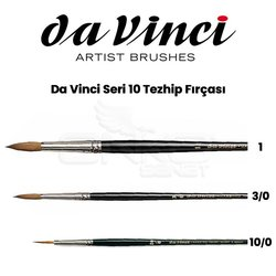 Da Vinci Seri 10 Tezhip Fırçası - Thumbnail