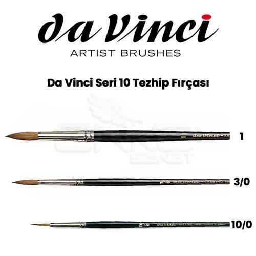 Da Vinci Seri 10 Tezhip Fırçası
