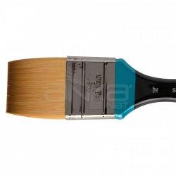 Daler Rowney - Daler Rowney 278 Seri Aquafine Sentetik Fırça Kısa Sap Zemin Fırça (1)