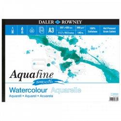 Daler Rowney - Daler Rowney Aquafine Sulu Boya Blok Hot Pressed 300g 12 Yaprak A3 (1)