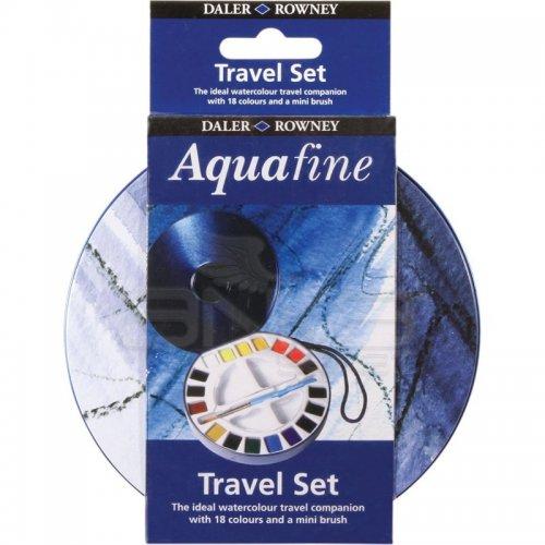 Daler Rowney Aquafine Travel Set 18 Renk