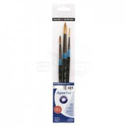 Daler Rowney Aquafine Watercolour Fırça Seti 301 - Thumbnail