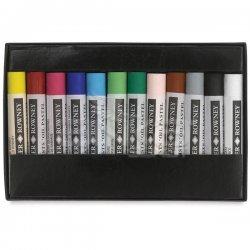 Daler Rowney Artists Yağlı Pastel 12li Set - Thumbnail