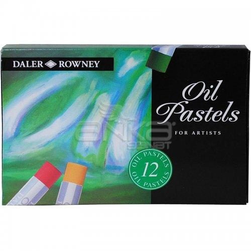 Daler Rowney Artists Yağlı Pastel 12li Set