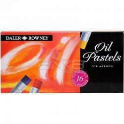Daler Rowney - Daler Rowney Artists Yağlı Pastel 16lı Set