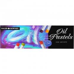 Daler Rowney Artists Yağlı Pastel 24lü Set - Thumbnail