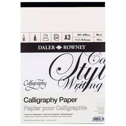 Daler Rowney - Daler Rowney Calligraphy Paper Kaligrafi Kağıdı 90g 30 Yaprak (1)