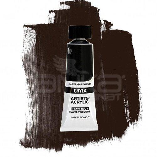 Daler Rowney Cryla Artist Akrilik Boya 75ml 035 Carbon Black Seri A - 035 Carbon Black