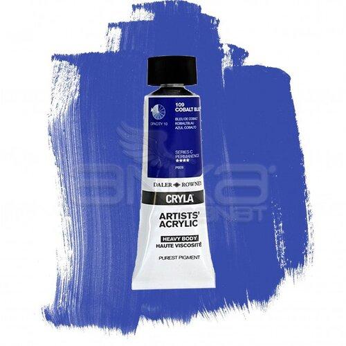 Daler Rowney Cryla Artist Akrilik Boya 75ml 109 Cobalt Blue Seri C - 109 Cobalt Blue