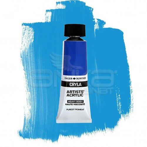 Daler Rowney Cryla Artist Akrilik Boya 75ml 121 Manganese Blue Hue Seri B - 121 Manganese Blue Hue