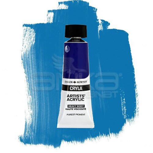 Daler Rowney Cryla Artist Akrilik Boya 75ml 160 Cobalt Chromite Blue Red Shade Seri D - 160 Cobalt Chromite Blue Red Shade