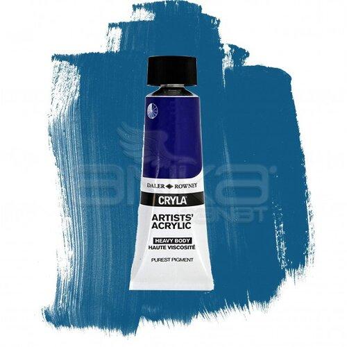 Daler Rowney Cryla Artist Akrilik Boya 75ml 161 Cobalt Chromite Blue Green Shade Seri D - 161 Cobalt Chromite Blue Green Shade