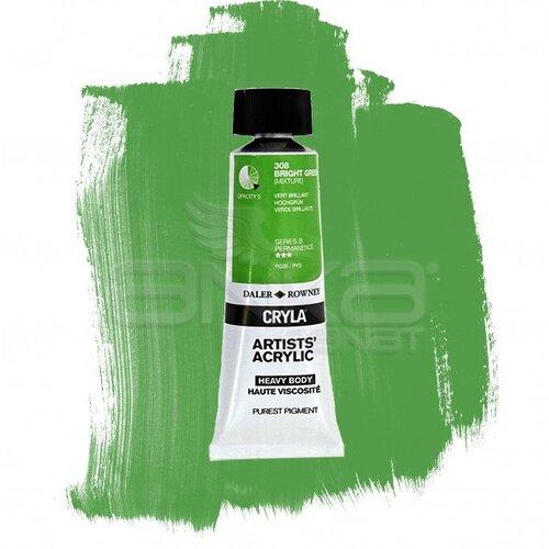 Daler Rowney Cryla Artist Akrilik Boya 75ml 308 Bright Green Seri B - 308 Bright Green
