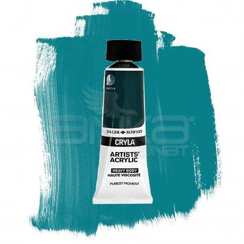 Daler Rowney Cryla Artist Akrilik Boya 75ml 323 Cobalt Chromite Green Seri B - 323 Cobalt Chromite Green