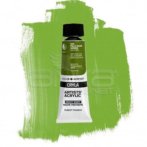 Daler Rowney Cryla Artist Akrilik Boya 75ml 368 Pale Olive Green Seri B - 368 Pale Olive Green