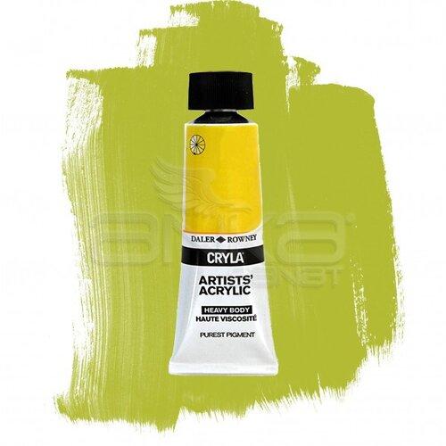 Daler Rowney Cryla Artist Akrilik Boya 75ml 388 Yellow Green Seri B - 388 Yellow Green