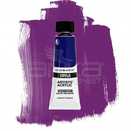 Daler Rowney Cryla Artist Akrilik Boya 75ml 406 Cobalt Violet Hue Seri D - 406 Cobalt Violet Hue